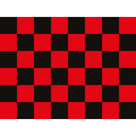 """שטיח """"דגל מרוצים"""" - אדום 60 על 80 ס""""מ"""
