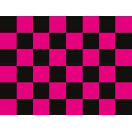 """שטיח PVC """"דגל מרוצים"""" - ורוד"""