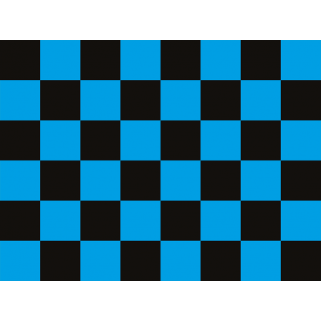 """שטיח """"דגל מרוצים"""" - כחול 60 על 80 ס""""מ"""