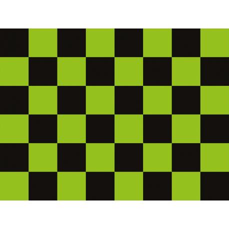 """שטיח """"דגל מרוצים"""" - ירוק 60 על 80 ס""""מ"""