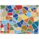 """שטיח """"אבני פסיספס"""" - צבעוני 60 על 80 ס""""מ"""