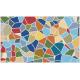 """שטיח """"אבני פסיספס"""" - צבעוני 70 על 120 ס""""מ"""