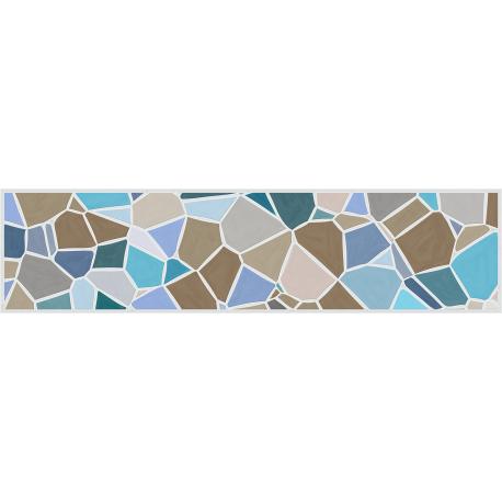 """ראנר PVC """"אבני פסיספס"""" - צבעי מים"""
