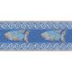 """שטיח PVC """"פסיספס דגים"""" - כחול"""