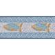 """שטיח PVC """"פסיספס דגים"""" - בהיר"""