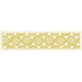 """ראנר PVC מעוצב לשולחן """"שמיניות ספירלה"""" - ספיה"""