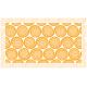 """שטיח """"שמיניות ספירלה"""" - כתום 70 על 120 ס""""מ"""