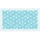 """שטיח """"שמיניות ספירלה"""" - כחול 70 על 120 ס""""מ"""