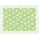 """שטיח """"שמיניות ספירלה"""" - ירוק 60 על 80 ס""""מ"""