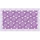 """שטיח """"שמיניות ספירלה"""" - סגול 70 על 120 ס""""מ"""