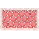 """שטיח """"שמיניות ספירלה"""" - אדום 70 על 120 ס""""מ"""