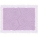"""שטיח """"משושים"""" - סגול 60 על 80 ס""""מ"""