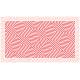 """שטיח """"משושים"""" - אדום 70 על 120 ס""""מ"""
