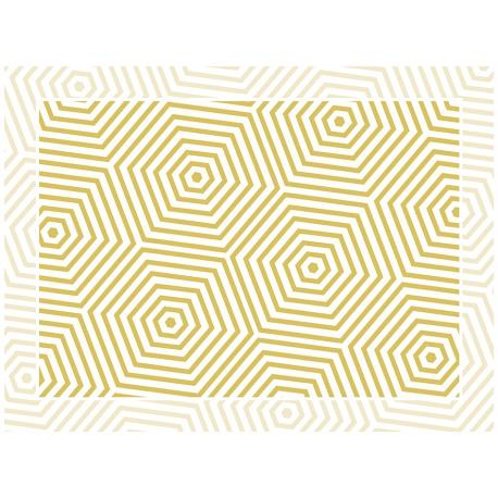 """שטיח """"משושים"""" - ספיה 60 על 80 ס""""מ"""