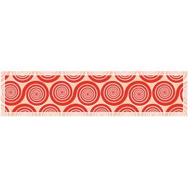 ראנר PVC שמיניות ספירלה אדום אהבה