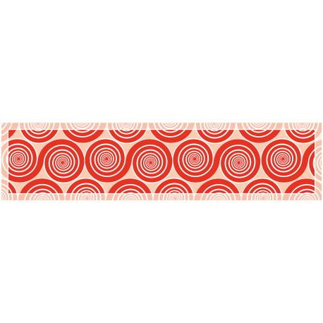 ראנר שמיניות ספירלה אדום אהבה
